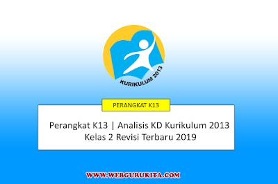 Analisis KD Kurikulum 2013 Kelas 2 Revisi Terbaru 2019