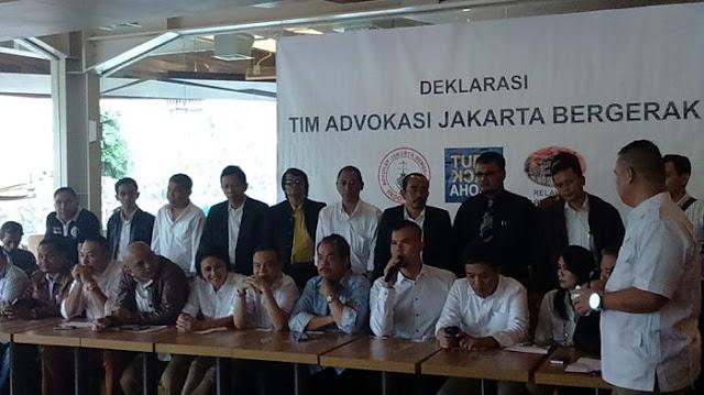 Deklarasi Tim Advokasi Jakarta Bergerak, Ahmad Dhani Malah Bingung