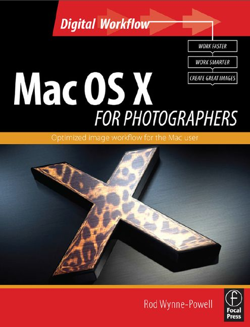 Portada libro: Mac OS X para fotografos