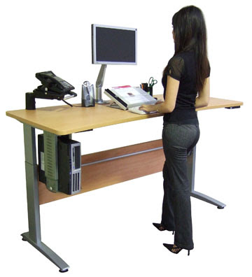 How To Work At A Stand Up Desk