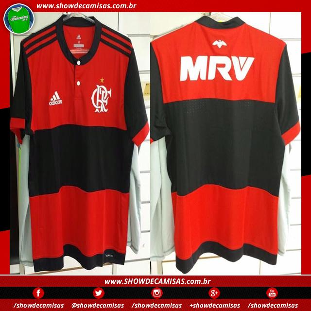 adeb130200 Nova camisa titular do Flamengo tem imagem vazada - Show de Camisas