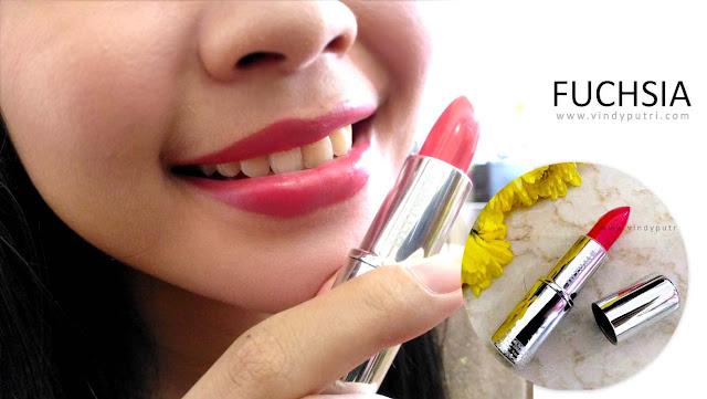 Review ULTIMA II Delicate Lipstick - Fucshia