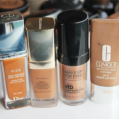 Maquiagem para pele oleosa