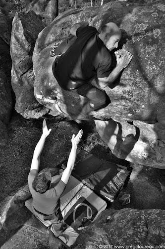 Julien Gasc dans Rubik's Cube à Fontainebleau