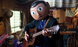 Frank, the film, Michael Fassbender as Frank Sidebottom