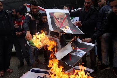 Donald Trump, Jokowi, Jerusalem, Israel, Palestinians, peace, intifada