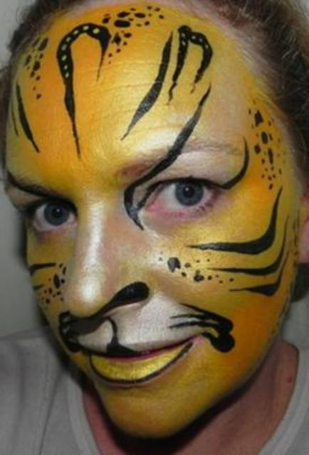 Adult Cat Face Painting Ideas