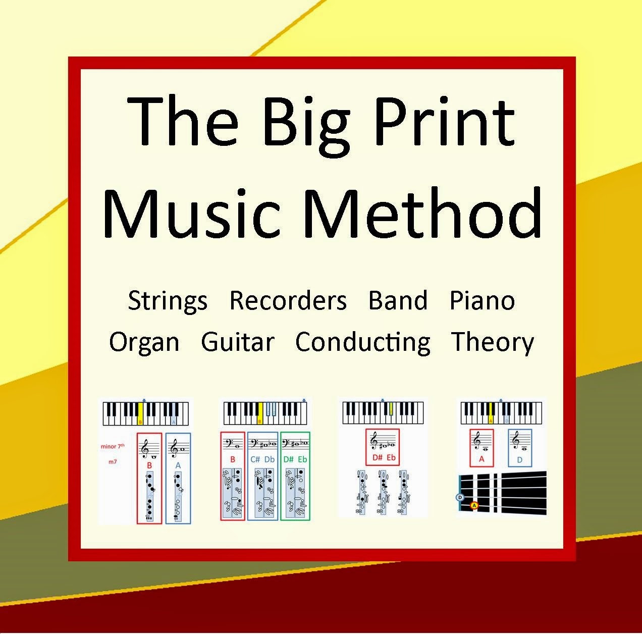 Big Print Music Education