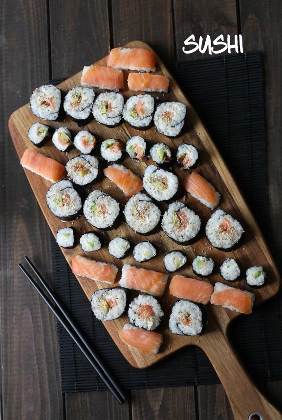 различни видове суши