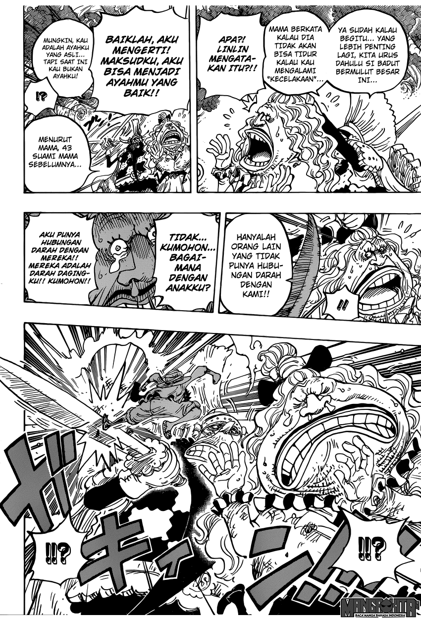 One Piece Chapter 836