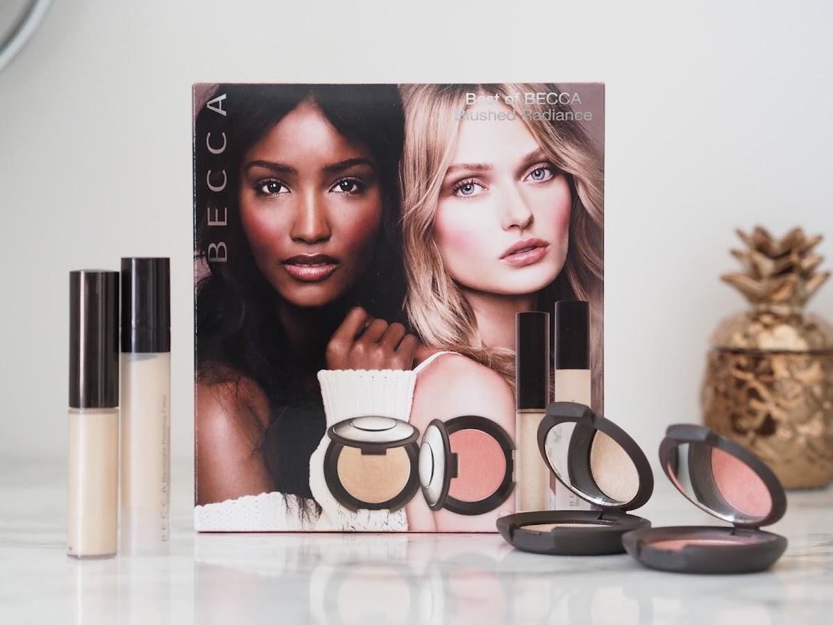 BECCA review Flowergirl blusher highlighter QVC Backlight priming filter