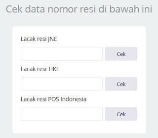 Memasang widget jne tiki pos indonesia untuk cek resi dan melacak tracking kode lebih mudah. Cocok untuk website toko online online shop.