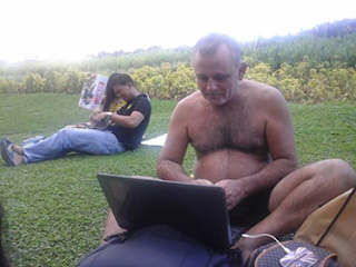 Picture of Rafael Martinez-Minuesa working remotely from Novaliches