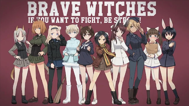 Brave Witches OST Opening Ending Full Version