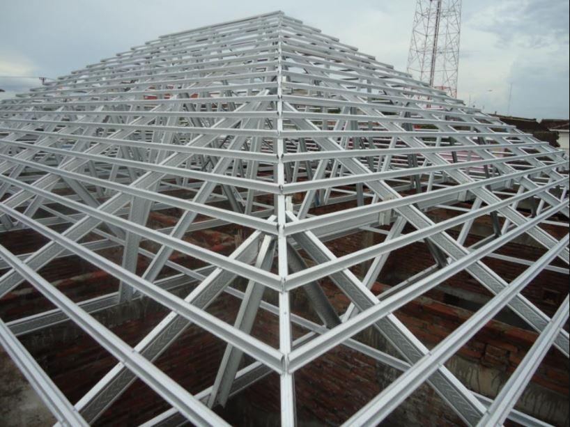 distributor rangka baja ringan yogyakarta jasa pasang atap murah gypsum