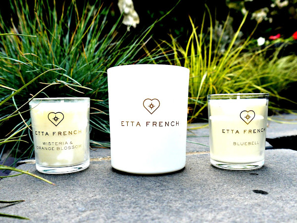 Candles with jewellery inside from Etta French
