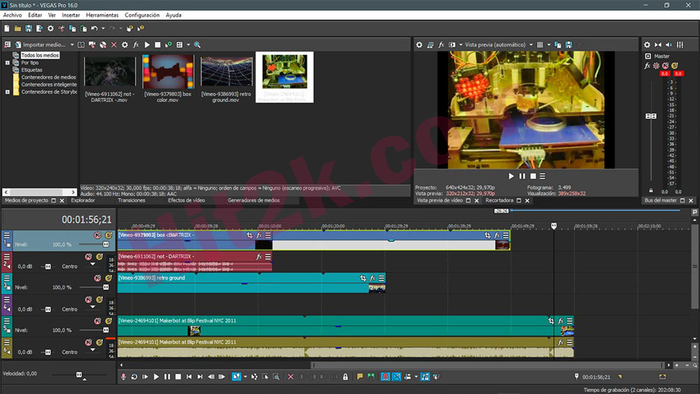 MAGIX Vegas Pro 16 Build 307