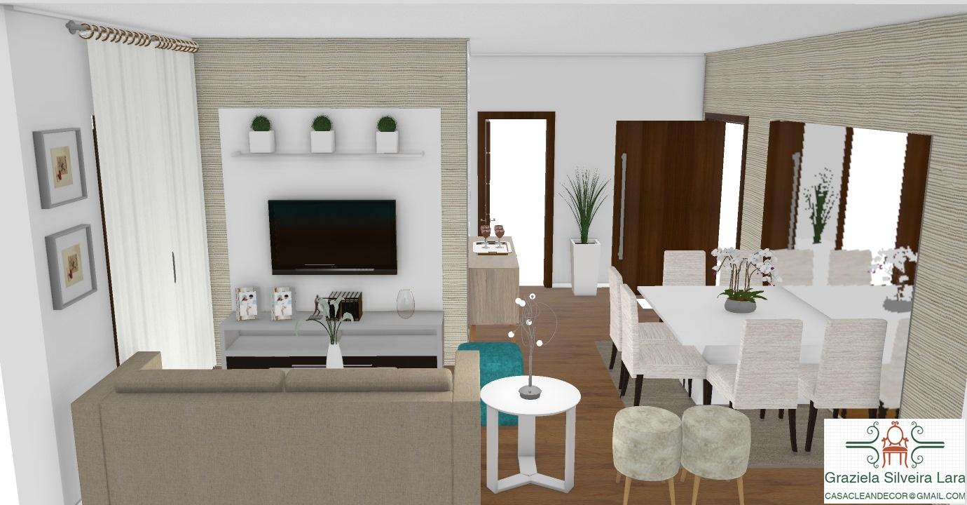 Construindo minha casa clean consultoria com 3d como for Decorar casas online 3d