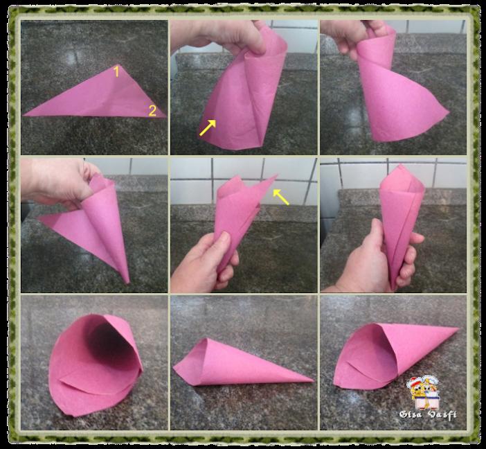 Cone de papel 2