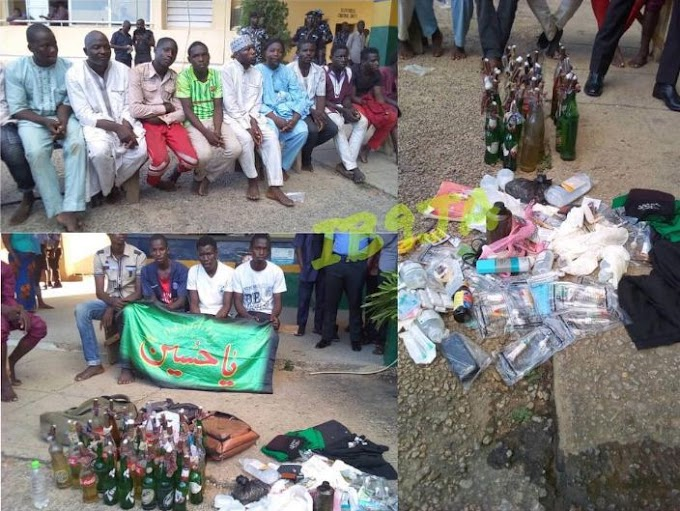 400 Shiites arrested with bombs in Abuja.