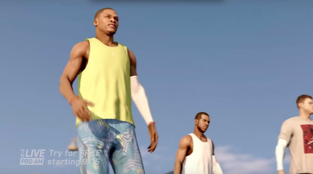 "NBA LIVE 16: Pro-Am Reveal Trailer: ""The Summer Never Ends"""