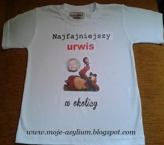 Kolejna koszulka – dla chrześniaka :)
