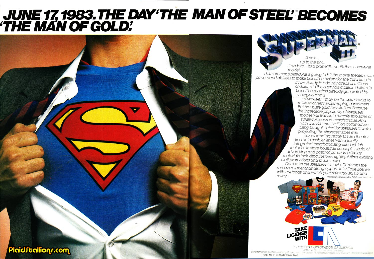 superman the history of the man of steel