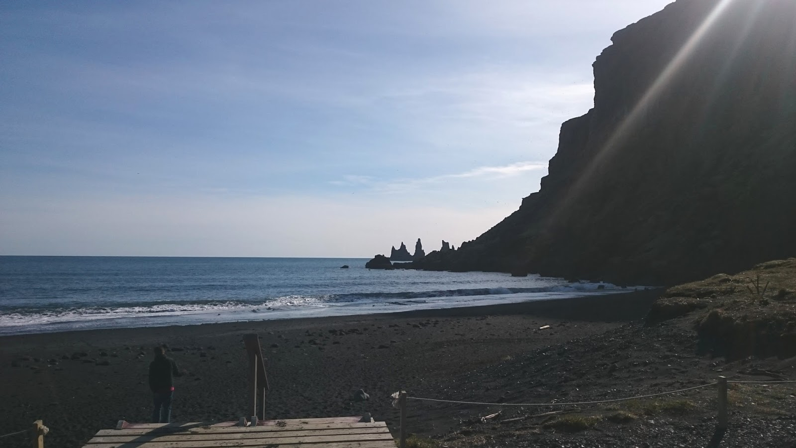 plaża w Viku, miasteczko Vik, islandzkie miasteczko, Islandia