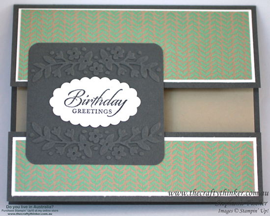SU, Split Card, Fun Fold, Wetlands, Floral Affection, Affectionately yours, Sneak peek new products