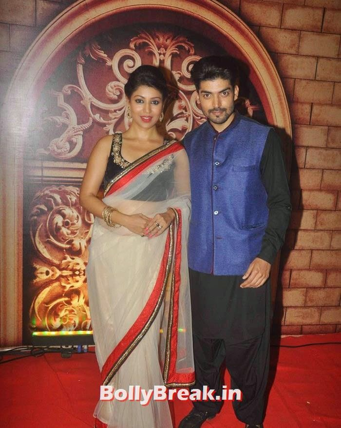 Debina Bonnerjee, Gurmeet Choudhary, Zee Rishtey Awards 2014 Photo Gallery