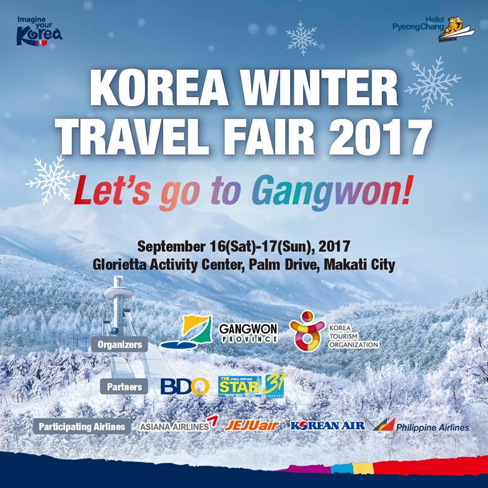 manila shopper korea winter travel fair at glorietta. Black Bedroom Furniture Sets. Home Design Ideas