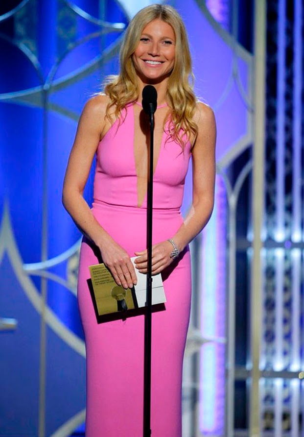 Gwyneth Paltrow Golden Globes 2015