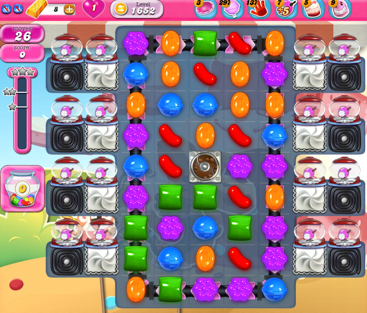 Candy Crush Saga 1652