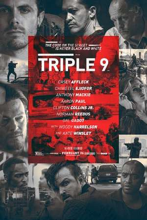 Triple 9 2016 720p WEBRip 800mb Audio CAM hollywood movie triple 9 720p web rip hdrip free download or watch online at https://world4ufree.ws