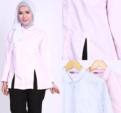 Berbagai macam model kemeja wanita muslimah kini sangat bervariasi dari segi desain hingg 23+ Model Kemaja Muslim Untuk Wanita Muslimah Modern Terbaru 2017
