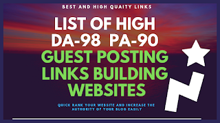 Guest Post Website High DA PA Backlink