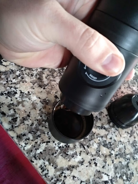 Maquina Café expresso Manual - Review