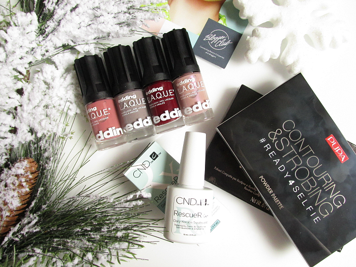 Unboxing: Blogger-Club November Box - edding L.A.Q.U.E. pupa Milano & CND