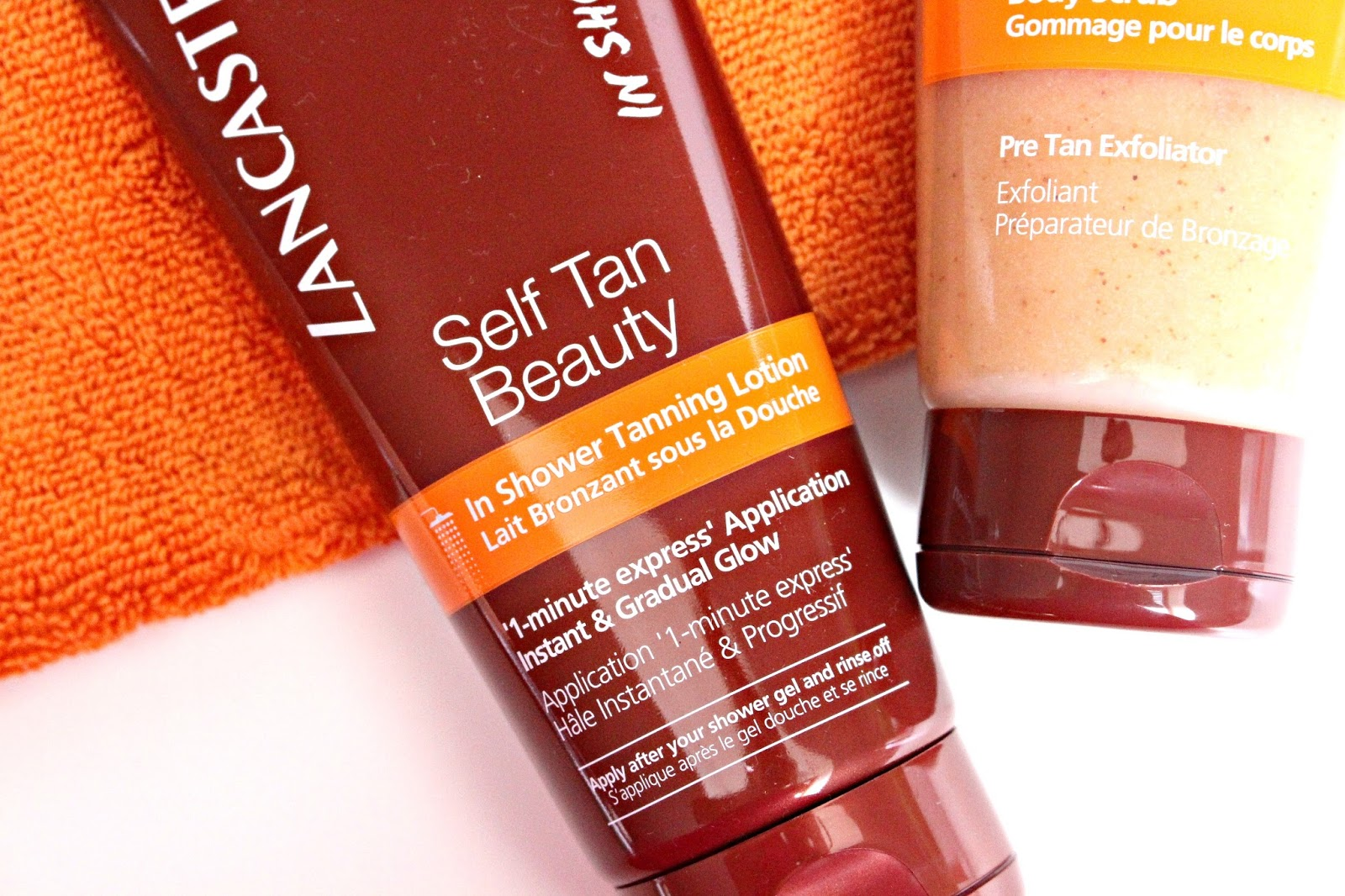 Lancaster Tan Preparer en In Shower Tanning Lotion
