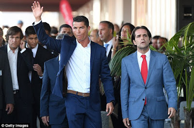 Cristiano Ronaldo Attends Unveiling Of One Of His Four New Hotels In Portugal. Photos