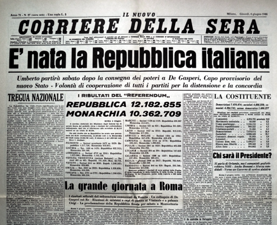 Corriere della Sera 1946
