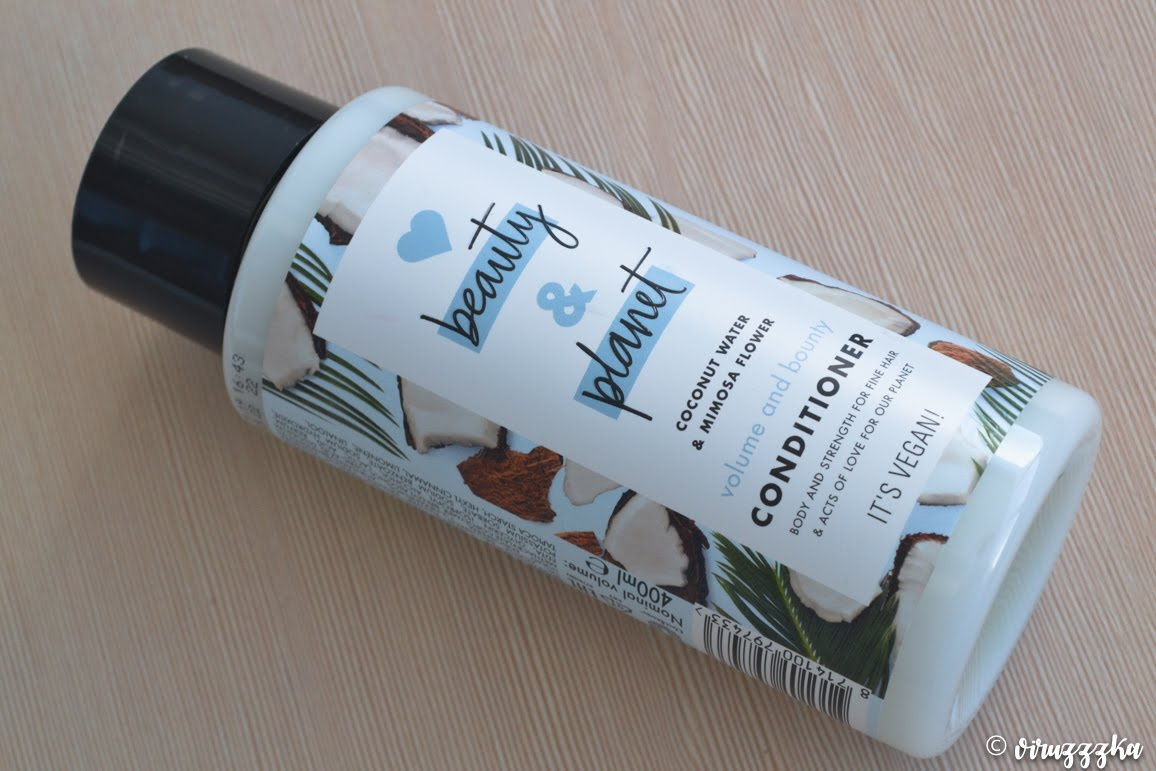 Love Beauty And Planet Volume and Bounty Conditioner Coconut Water & Mimosa Flower Review