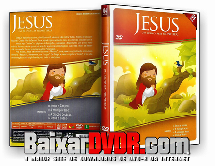 Jesus: Um Reino Sem Fronteiras Vol. 04 (2018) DVD-R