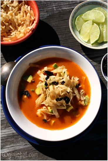 My favorite Tortilla Soup