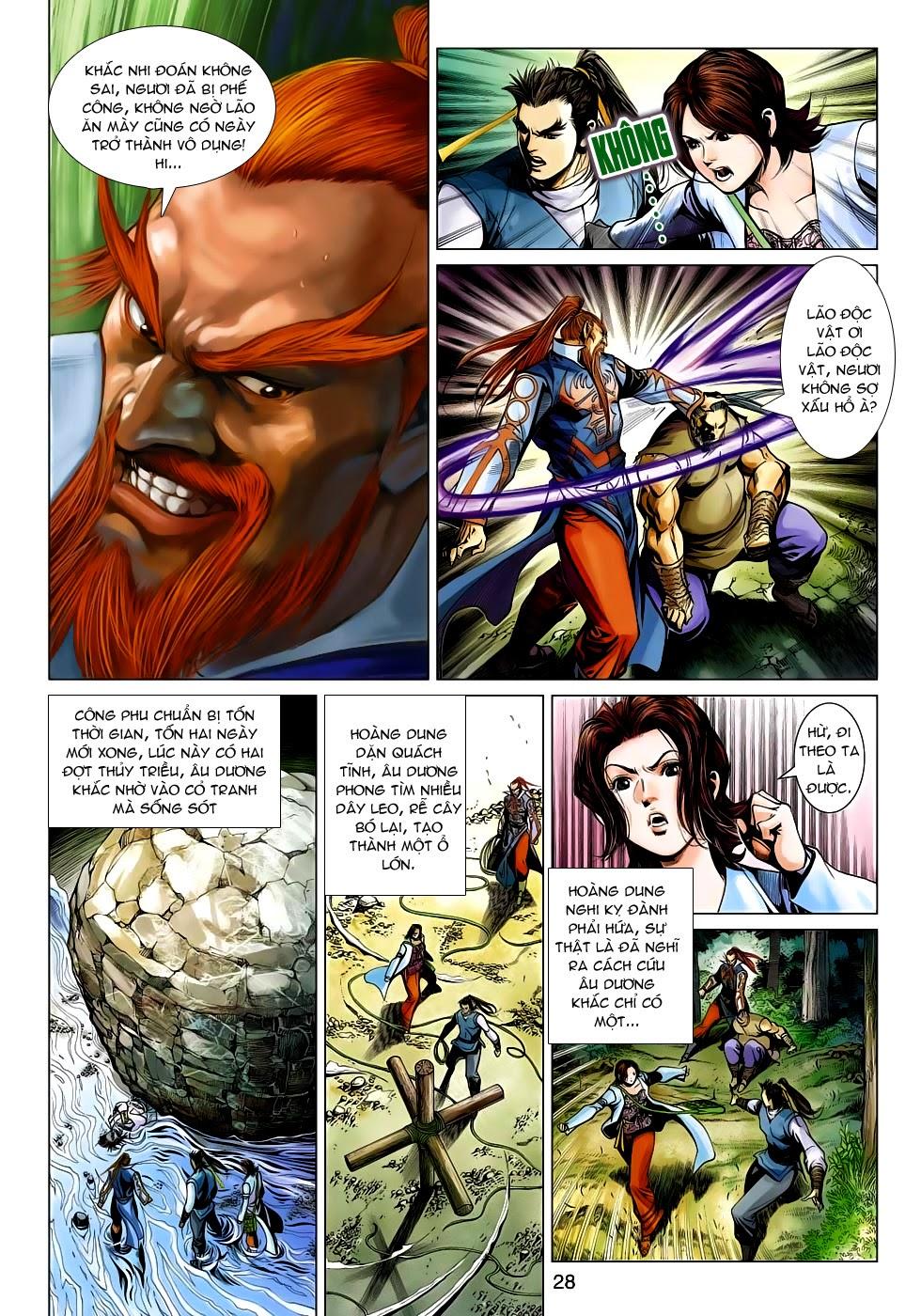 Anh Hùng Xạ Điêu anh hùng xạ đêu chap 54: kiếp hậu dư sinh thiến nữ kỳ mưu trang 28