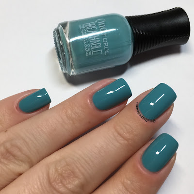 orly detox my socks off swatch