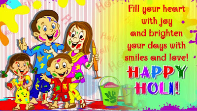 Happy Holi Messages, Wishes, Sms for Family