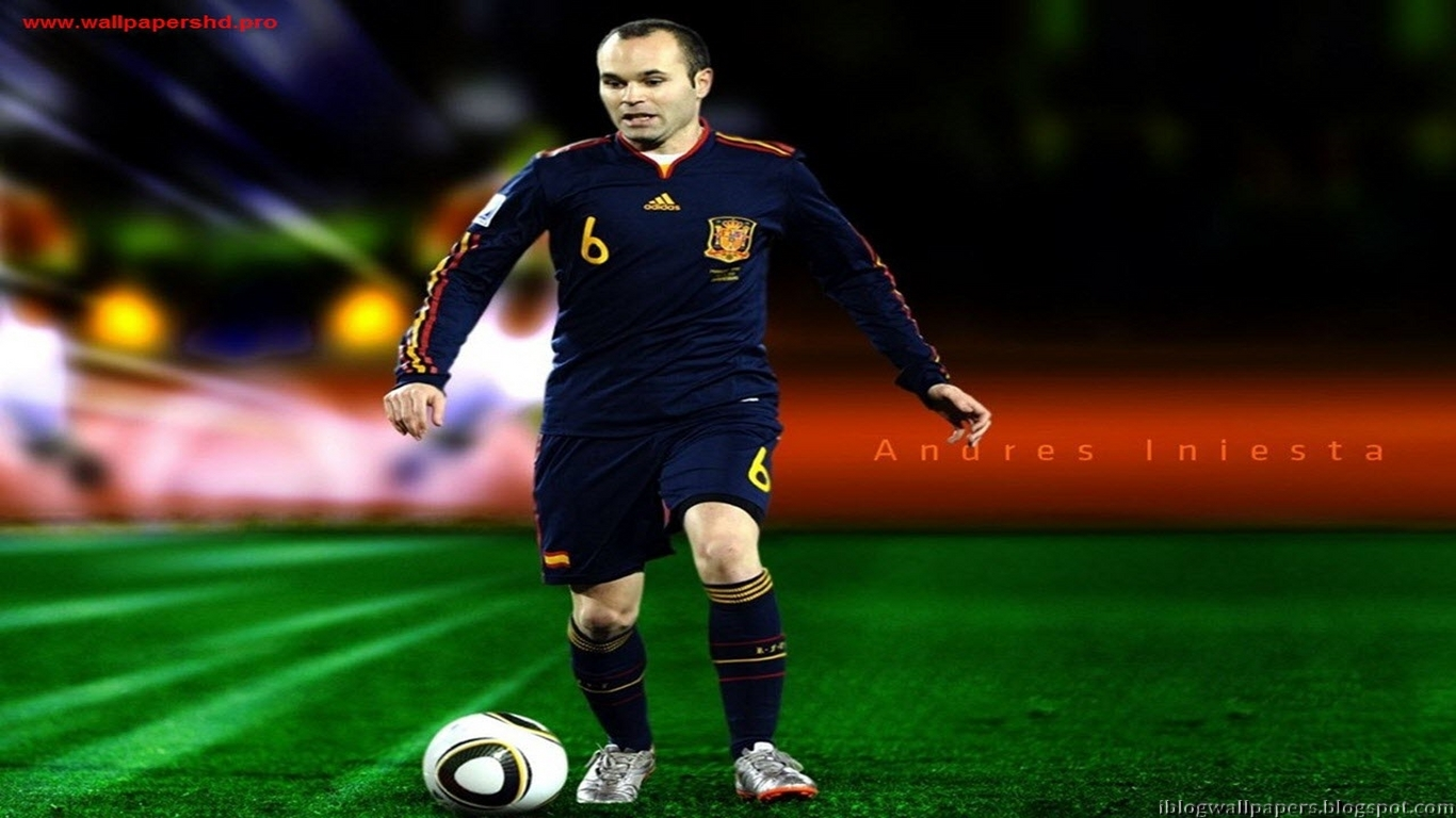Ricardo Kaka Wallpapers Hd Andres Iniesta Spain Wallpapers Collection Free Download