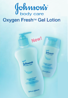 lotion - FREEBIES - [ENDED] FREE Johnson Baby Oxygen Fresh Gel Lotion