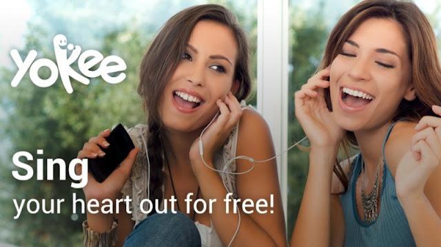 Aplikasi Karaoke untuk Android
